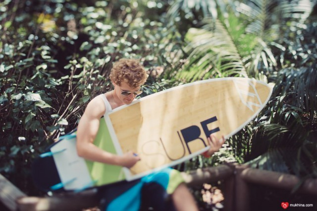 Красивый серфборд X-Surf)