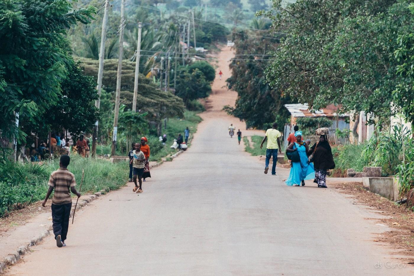 деревня в кении