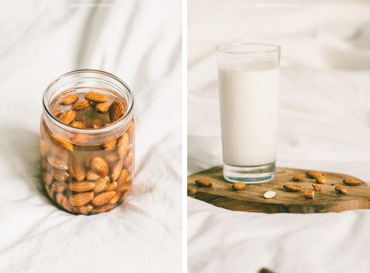Рецепт домашнего миндального молока