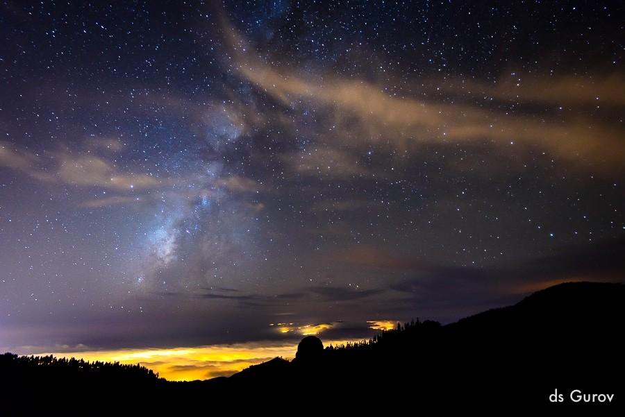 руководство по фотографированию звёзд и ночного неба