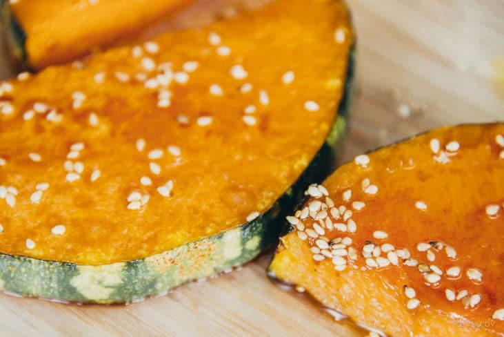 pumpkin soba salad green lifestyle blog