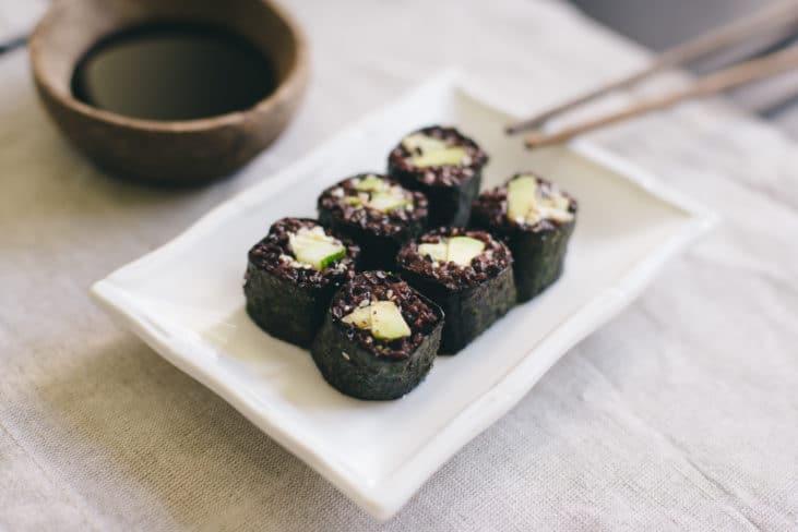 sushi green lifestyle blog