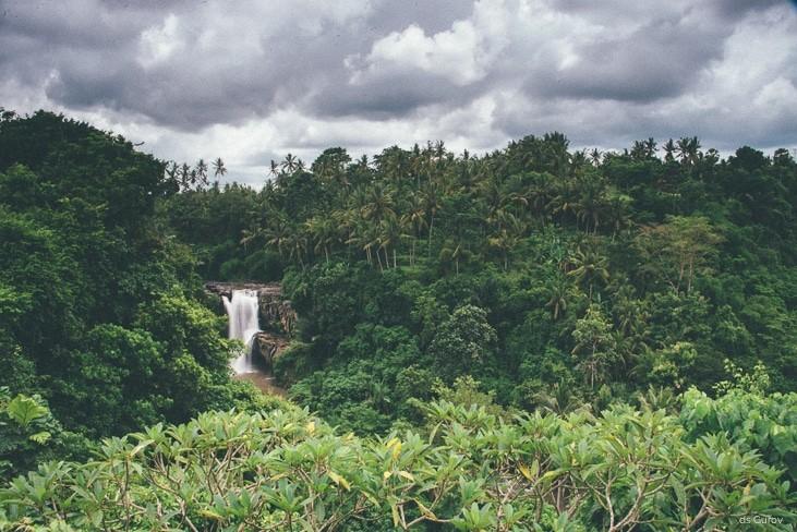 водопад тегенунган на юге бали