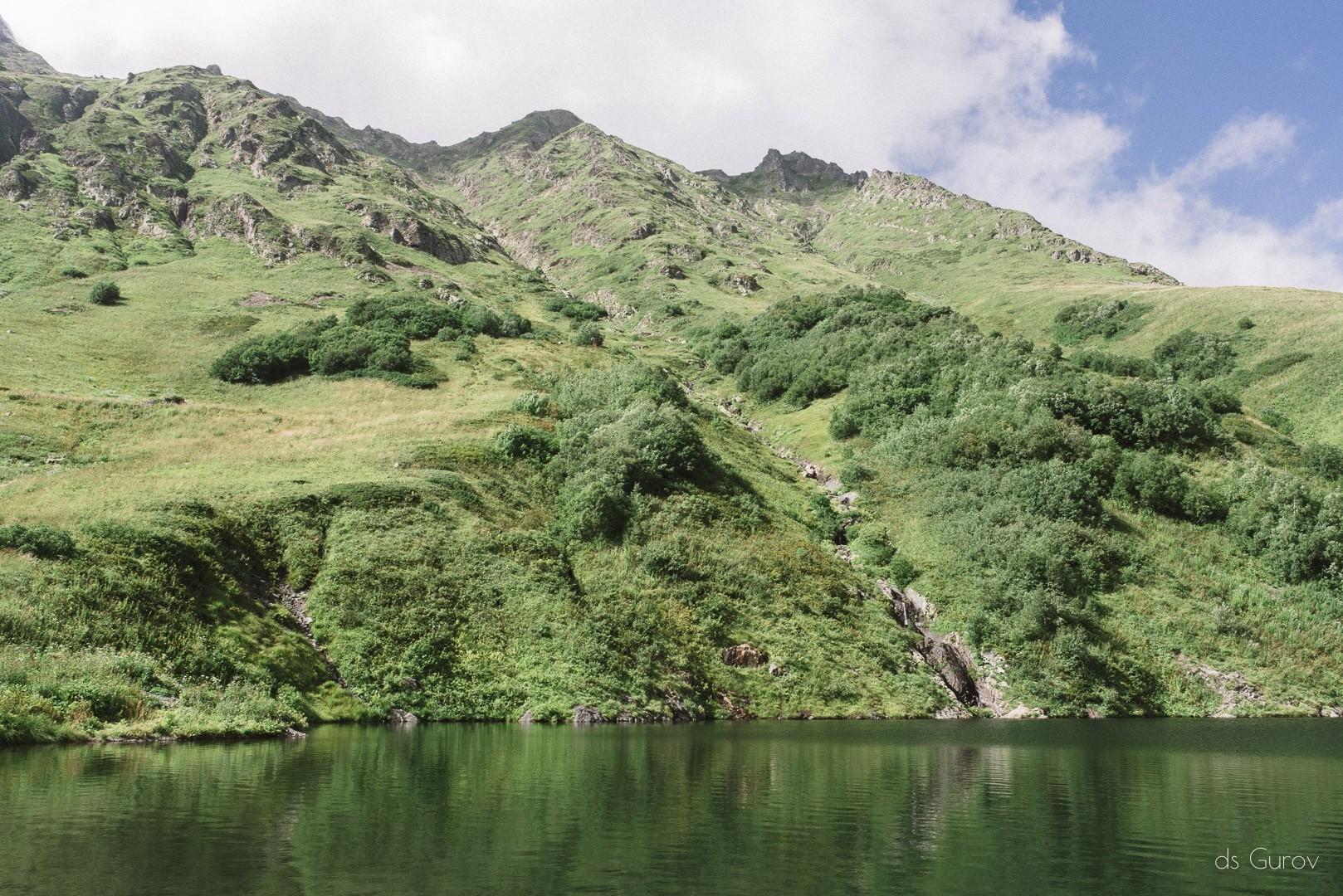 озеро малое красная поляна