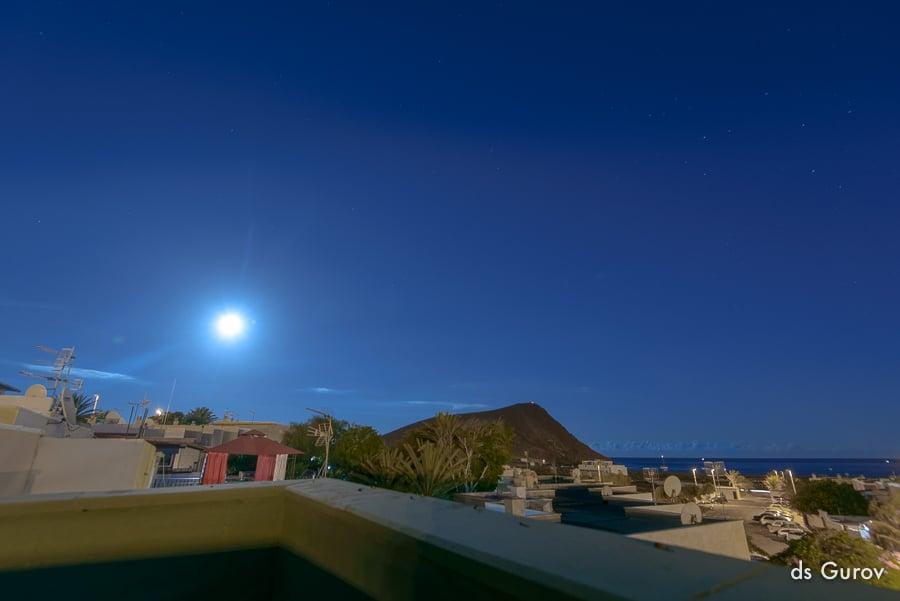 фотографируем луну