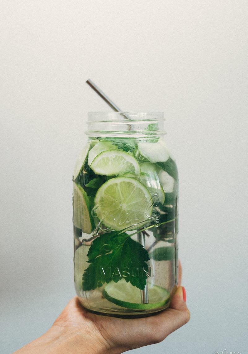 Огуречный детокс лимонад