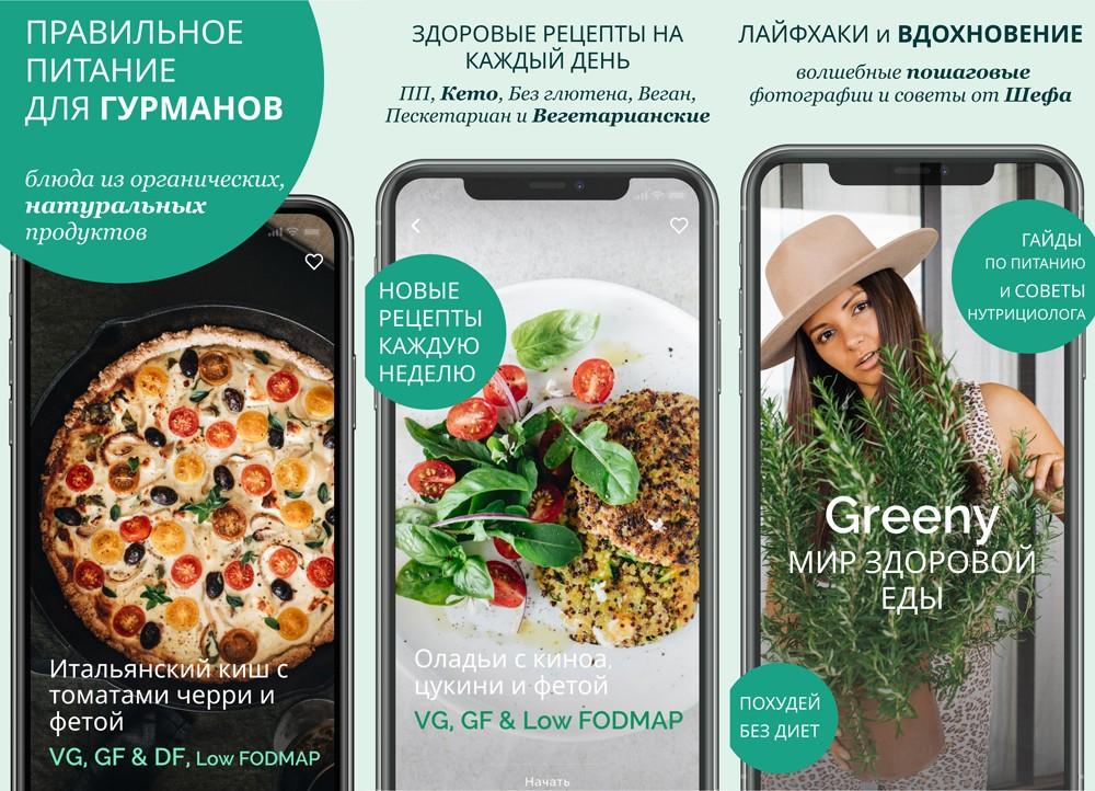 рецепты правильного питания Greeny